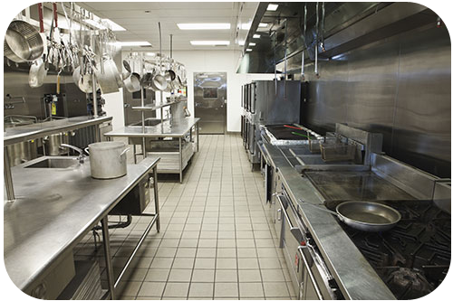 Commercial Kitchen Tile Cleaning - Super Mario Carpet Cleaning